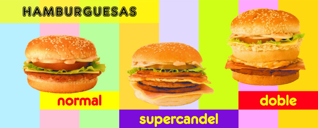 Cartel hamburguesas