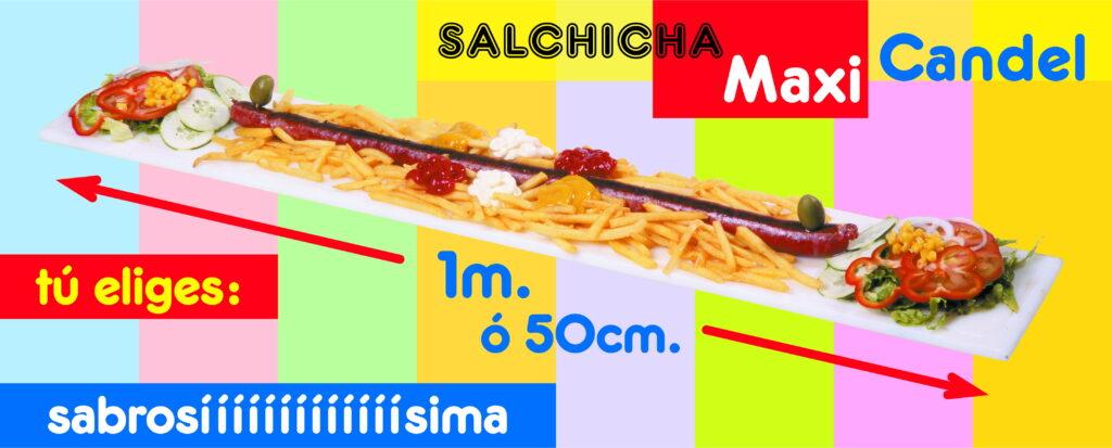Cartel salchicha